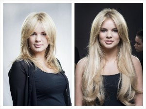 Before and After Dianne Marshall Remi Hair Extensions