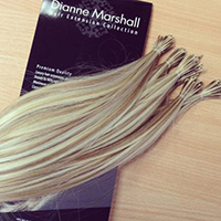 Hand Tied Wefts at Dianne Marshall Hair Extensions